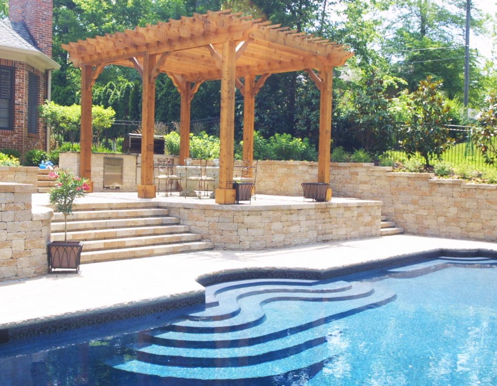 transform your backyard into an outdoor oasis with liquid assets