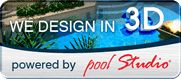 We Design in 3D powered by  pool Studio