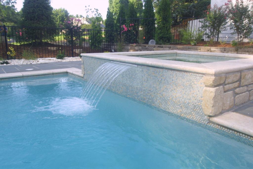 Trelstead Water Feature