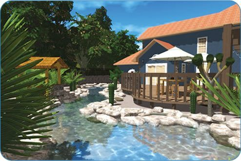 See it in 3d for Pool design studio