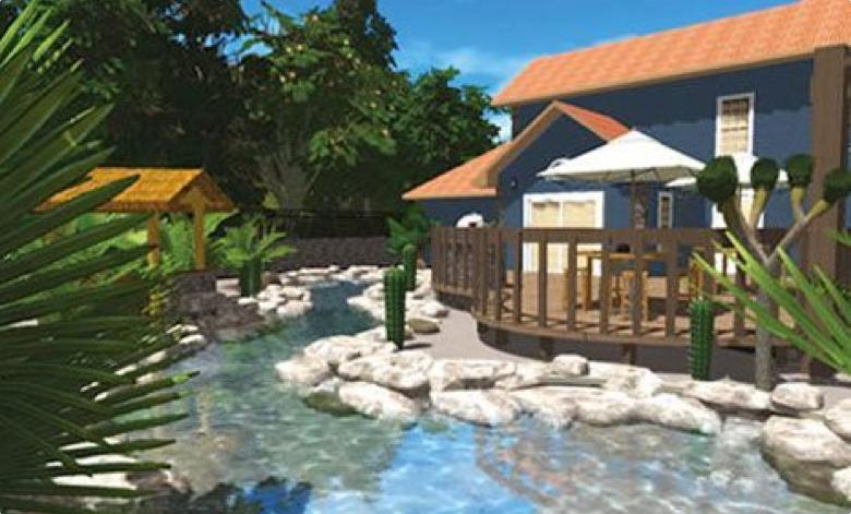 3D Rendering - Liquid Assets Pools